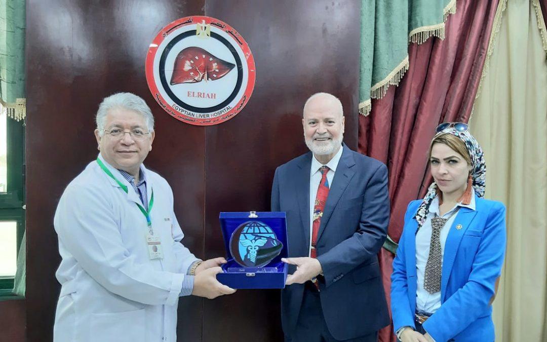 درع هيئة آل مكتوم الخيرية الإماراتية للدكتور جمال شيحه
