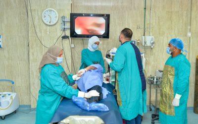 الكبد المصري : آلالاف الكشوفات ومئات الأشعة والجرحات والتطعيمات المجانية خلال اكتوبر 2020